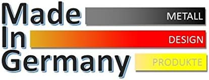 Edelstahl hochglanzpoliert Kleiderst/änder Garderobenst/änder Marke: Szagato, Made in Germany 140x40cm Wandgarderobe//Garderobe Design Leaves Spiegeloberfl/äche