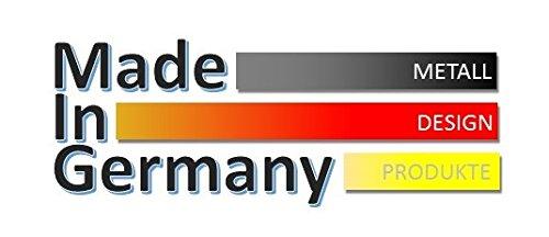 140x40x2 cm Marke: Szagato, Made in Germany Wandgarderobe // Garderobe Design Mosaik Edelstahl 3D poliert Kleiderst/änder Garderobenst/änder Wandpaneel Wanddeko Kleiderhaken Flurgarderobe Hakenleiste gl/änzend