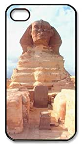 iphone 4 fun case Landscapes Sphinx PC Black for Apple iPhone 4/4S by icecream design
