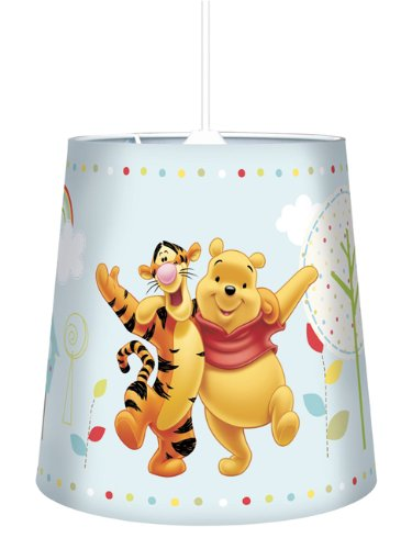 Winnie The Pooh Tapered Pendant Light Shade Polka Dot