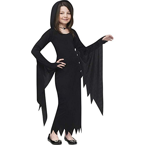 Black Gown Costume (Black Hooded Gown Kids Costume)