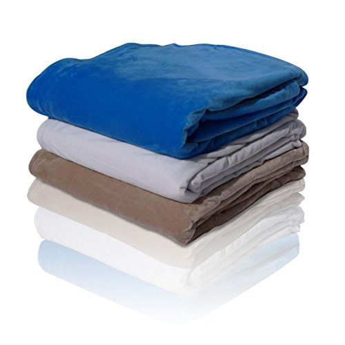 ATLIN Duvet Cover Only for CalmingWeight Blanket - Strong Ties and Zipper - Machine Wash and Dry - 300 TC Cotton or Minky Fleece