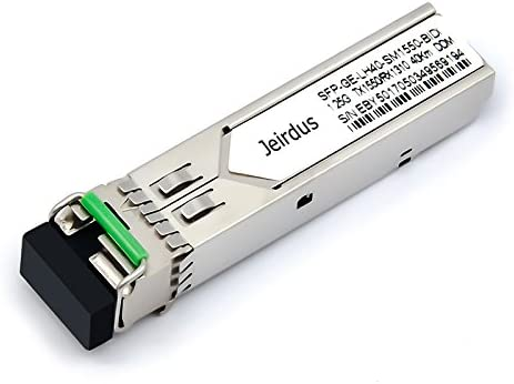 for Juniper SFP-GE10KT13R15 and SFP-GE10KT15R13 1.25G SFP Module BIDI WDM Transceiver 10-20KM Simplex LC 1310//1550nm 1Pair