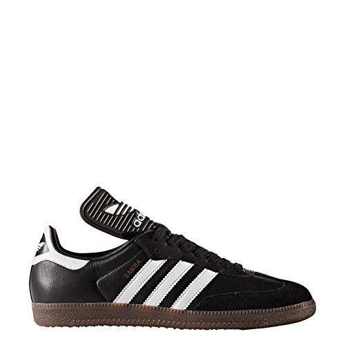 Footwear Black Mens Adidas White Core OG Samba Classic Leather Trainers Tq0q8wd