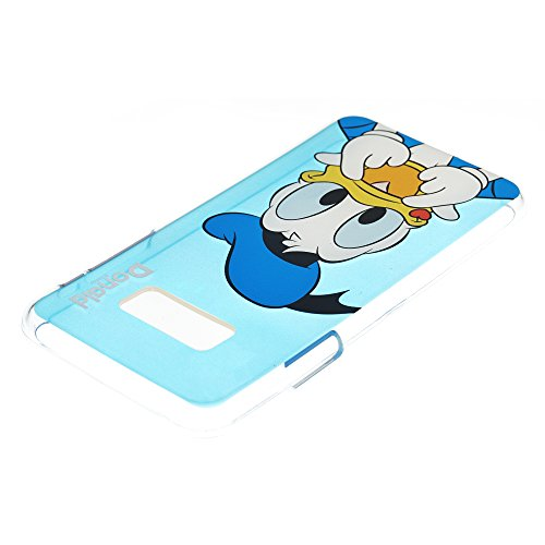 Galaxy S7 Schutzhülle, Disney Cute Soft Jelly Cover für [Galaxy S7 (13 cm)] Fall Heart Daisy Duck (Galaxy S7) Color Donald Duck (Galaxy S7)
