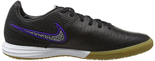 Nike Herren Magistax Finale IC Fußballschuhe Schwarz (Schwarz;violett)