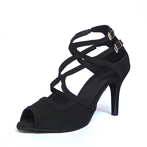 danse danse Cadeaux 5CM Dance Dance latine femmes black 37 chaussures 7 YFF Tango UtqIU