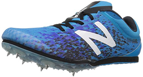 New Balance Men MD500v5 Track Shoe Maldives Blue/Black