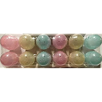 Color Changing Eggs! Put them in the sun and watch the colors change! (Dozen fillable plastic eggs): Toys & Games