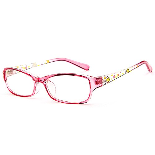 Fantia Kids Eyeglasses Stripe children Eyewear Student Glasses Age 3-12 - Girls Glasses