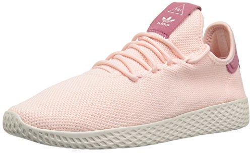 adidas Originals Women's PW Tennis HU Running Shoe, ice Pink/Chalk White, 8 M US