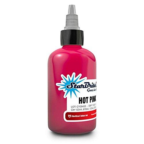 StarBrite Colors Sterilized Tattoo Ink Hot Pink 1/2 oz