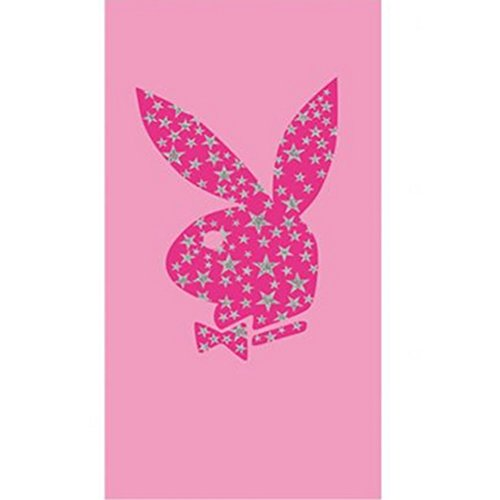 Playboy Glitter Cherry Berry Towel
