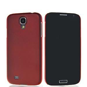 HKCFCASE Carcasa ultrafino Delgado Funda Caso Tapa Case Cover Para Samsung Galaxy S4 I9500 Rojo