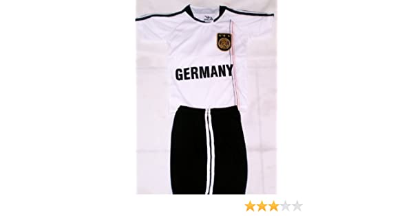 9917693d33a Amazon.com : 2010 SOUTH AFRICA WORLD CUP KIDS GERMANY SOCCER JERSEY AND  SHORTS SETS size 14 (for ages 11 & 12) : Sports Fan Soccer Jerseys : Sports  & ...