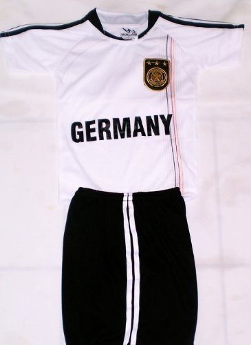 0d7dc8ffdde Image Unavailable. Image not available for. Color: 2010 SOUTH AFRICA WORLD  CUP KIDS GERMANY SOCCER JERSEY ...