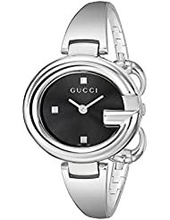 Gucci Guccissima Stainless Steel Womens Watch(Model:YA134301)