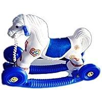 Generic ABC Plastic Horse (Blue)