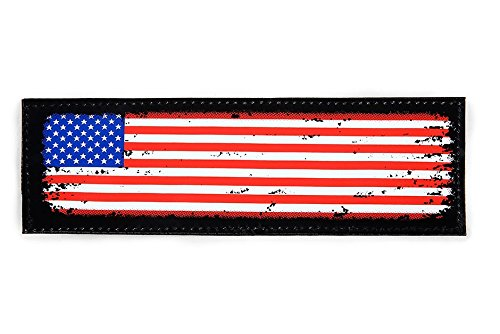 - Julius-K9 Patch with hook and loop fastener, Small, USA flag