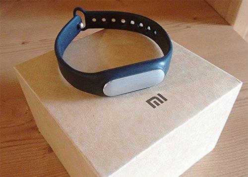 Xiaomi Band – Monitor de actividad (Bluetooth, resistente al agua, indicadores LED), color negro