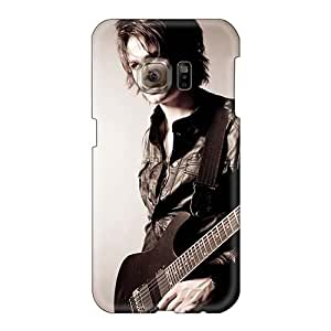 Bumper Hard Phone Covers For Samsung Galaxy S6 (xtN13550kyts) Unique Design Stylish Metallica Band Skin