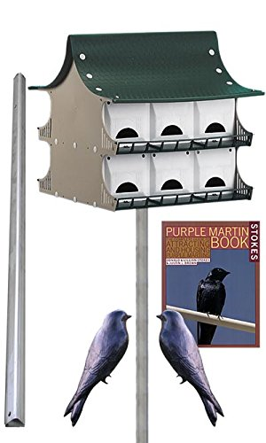 S&K 12 Room Purple Martin House Package 12 Room Purple Martin House