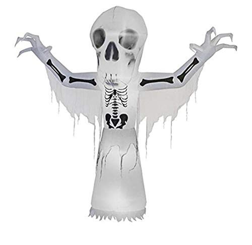Halloween Inflatable 10' Thunder Bare Bones w/Short Circuit Lighting Effect -