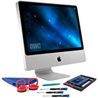 OWC SSD Upgrade Bundle For 2006-2009 iMacs, OWC Mercury Electra 120GB 6G SSD, AdaptaDrive 2.5 to 3.5 Drive Converter Bracket, Installation tools