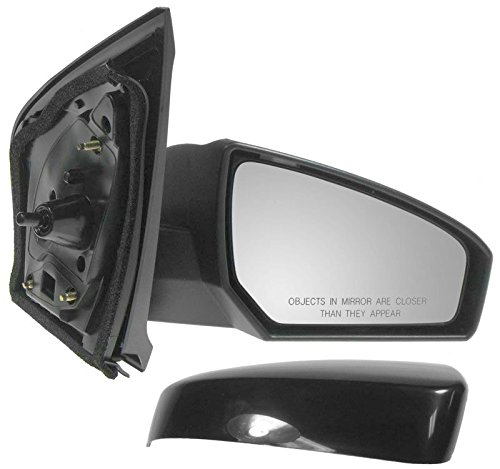 Right Manual - Mirror Side View Manual Passenger Right RH for 07-12 Nissan Sentra