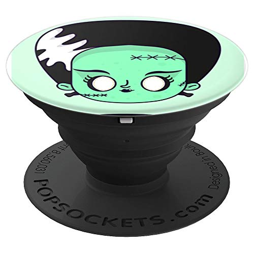 Mom Frankenstein of Halloween - PopSockets Grip and Stand for Phones and Tablets ()