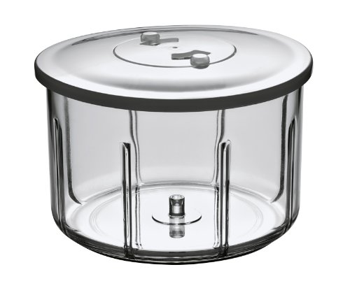Rösle Stainless Steel Food Processor Base with Lid, 0.6L Capacity Review