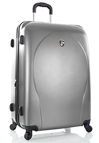 Heys - Core XCase Spinner Silber Trolley mit 4 Rollen Gross