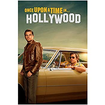 """Once Upon a Time in Hollywood Movie Fabric Silk Poster 24/""""x36/"""" 11/""""x17/"""" 2019"""