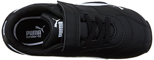 PUMA Tune Cat 3 V Inf Sneaker (Toddler), Black White, 9 M US Toddler