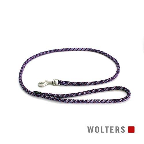 Wolters Cityleine Everest reflektierend, 100cm x 9mm pflaume/lavendel