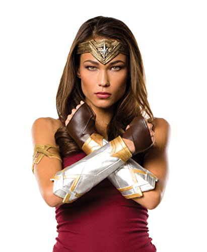 Rubie's Costume Co. Women's Wonder Woman Costume Accessories, As Shown, Justice League