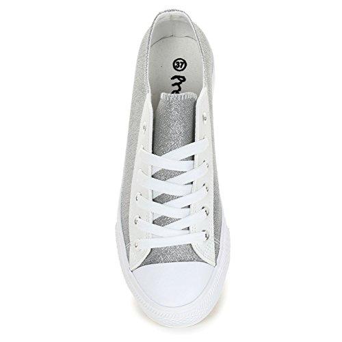 Prendimi Scarpe&Scarpe - Sneakers Donna Argento d6USt