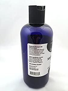Medicated Shampoo (16 oz) with Chelated Silver, Veterinarian Formulated, Rapid Healing for Several Skin Issues. Cuts, Scrapes, Bacteria and Fungal Infections, Dry Itchy Skin. Silver Kills a Broad Spectrum of Harmful Bacteria