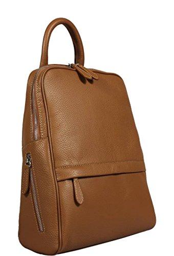 Neue Hand Tasche, Borsa a zainetto donna beige camel