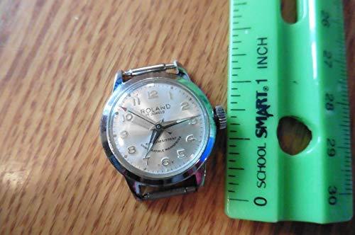 Roland 17 Jewels watch Ladies wristwatch mechanical vintage wind up shock resist