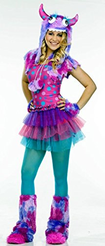 Morris Costumes Holiday Seasonal Decorative Fun Accessory Polka Dot Monster Teen 0-9 (Cute Scary Halloween Costumes)