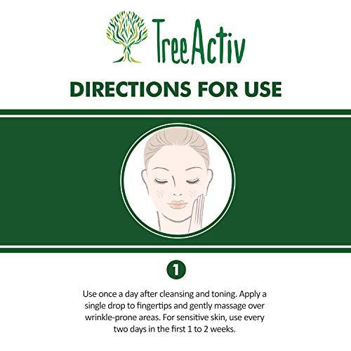 Amazon.com: TreeActiv - Suero antiarrugas profundo para ...