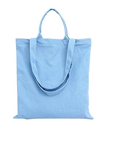 Toile Mode sacs en à Bleu avec les package Série Glissière la Fermeture solide Wa Femme à Sacs sac Sac Sac Da Main Femme Toile Main à la qwxvT7TE