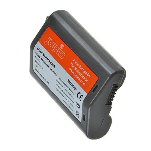 Jupio Digital Camera Replacement Battery for Nikon EN-EL18, Grey (CNI0021) by JUPIO