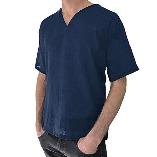 ZEFOTIM ✿ Men T Shirts Fish Shirts Flash 5XL Men Gym Big New 30 Shirt Men Joe t boy Long Sleeve fit t-Shirt Nerd t-Shirts for ali Gym Shirts 4X Betty boop kgi New Bad 16(Navy,X-Large) ()