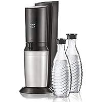 SodaStream Aqua Fizz Soda Maker Starter Kit, Black