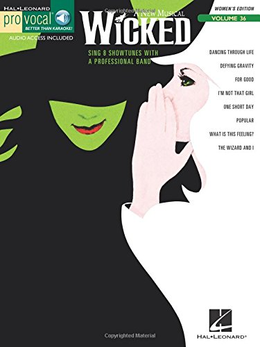Wicked: Pro Vocal Women's Edition Volume 36