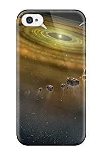 Space Fashionable Phone Case For Iphone 4/4s With High Grade Design