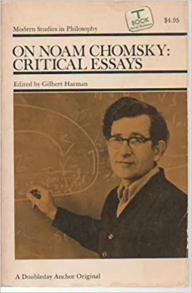 on noam chomsky critical essays modern studies in philosophy on noam chomsky critical essays modern studies in philosophy gilbert harman 9780385037655 com books