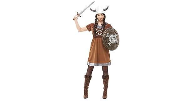 Funidelia Disfraz de Vikingo para Mujer: Amazon.es: Juguetes y juegos